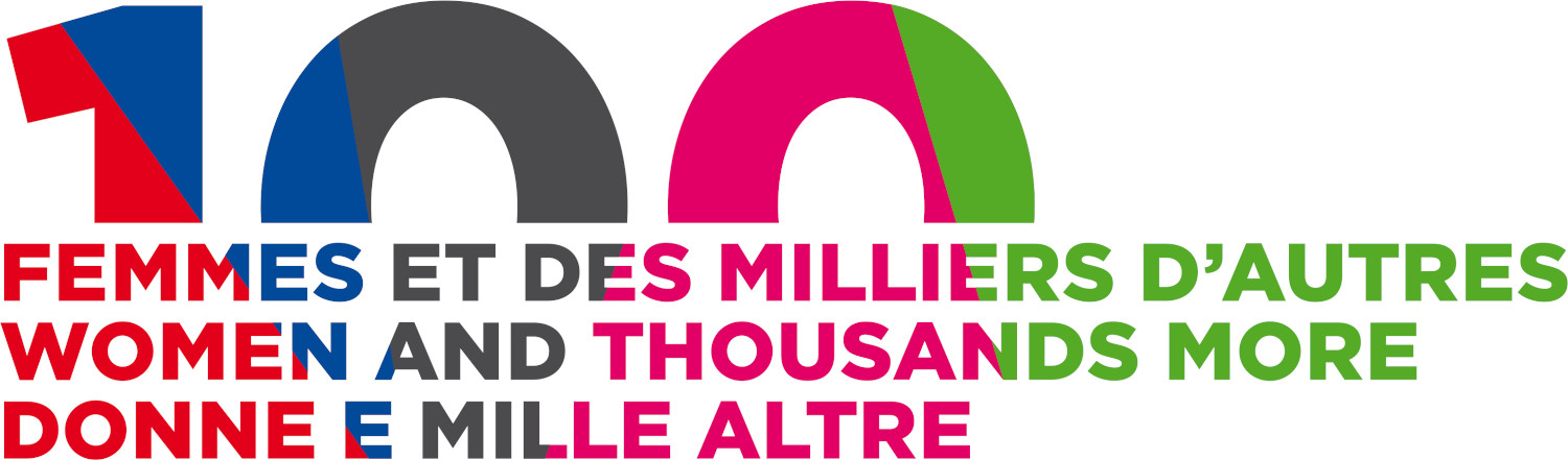 100 Women and Thousands More logo